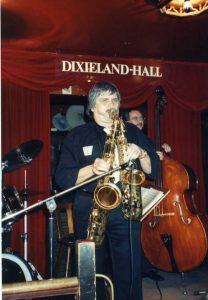Joe Schwarz in der Dixieland-Hall Stuttgart