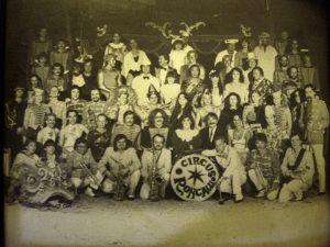Joe Schwarz Orchester beim Circus Roncalli Gruppenbild