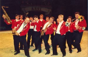 Joe Schwarz Orchester im Kerstcircus Ahoy in Rotterdam Ahoy´ Halle