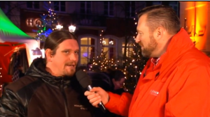 RNF Interview mit Joe Schwarz Heidelberg Marketing Heidelberger Weihnachtsmarkt 2016
