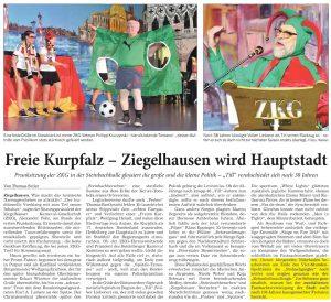 Joe Schwarz - Schunkelbeauftragter Ziegelhäuser Karneval Gesellschaft / ZKG Heidelberg