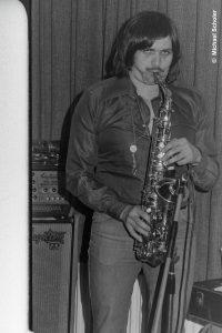 Joe Schwarz im Haus der Jugend Konz - 1978 - Foto: Michael Scholer