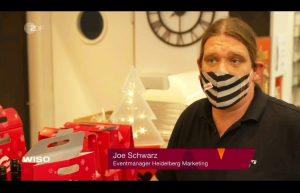 Joe Schwarz im Wirtschaftsmagazin des ZDF - WISO am 23.11.2020