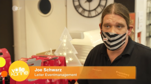 Joe Schwarz - Heidelberg Marketing bei ZDF Volle Kanne