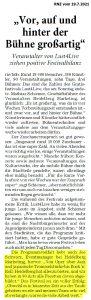 Joe Schwarz - Eventmanager Heidelberg - Lust4Live Heidelberg - Kulturfestival 2021
